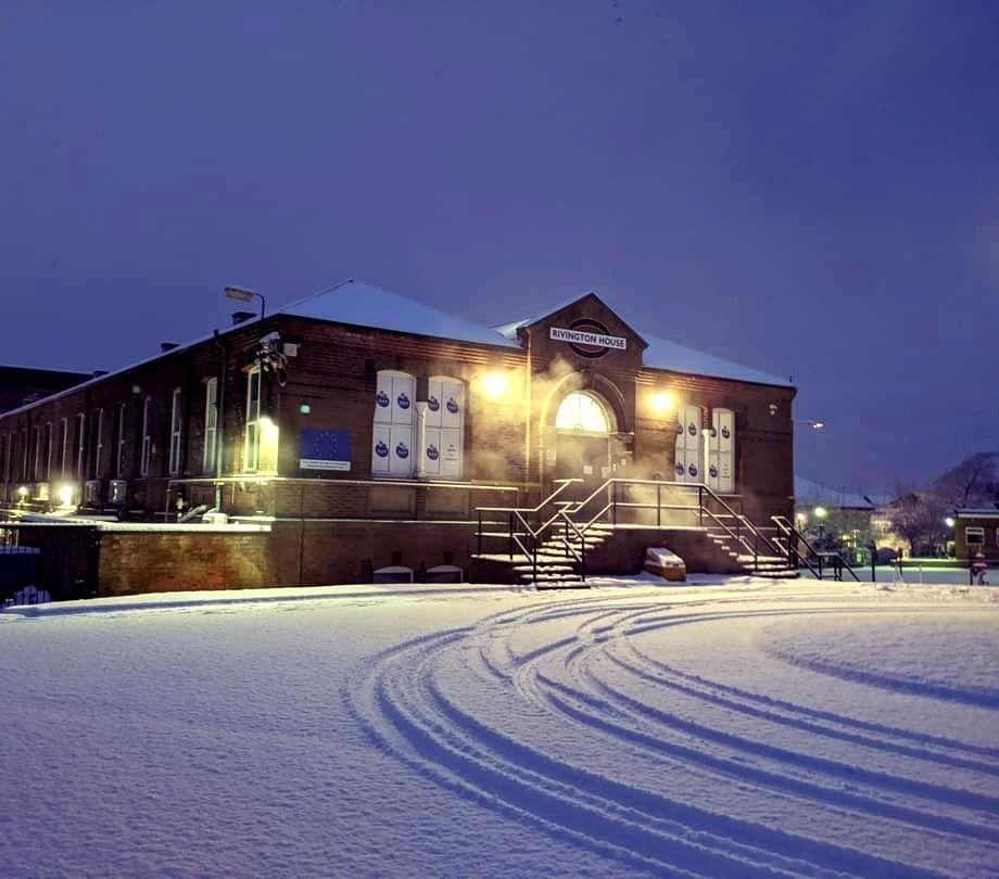 Fresh beginnings at Horwich Loco Works. Photo credit to Fluent Money Ltd.